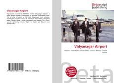 Capa do livro de Vidyanagar Airport