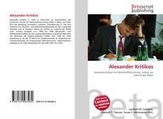 Buchcover von Alexander Kritikos