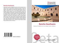 Copertina di Rancho Huerhuero