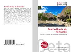 Bookcover of Rancho Huerta de Romualdo