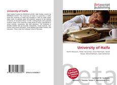 Bookcover of University of Haifa