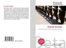 Bookcover of Patrick Sinclair