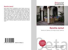 Capa do livro de Rancho Jamul