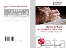 Roman Catholic Archdiocese of Alba Iulia的封面