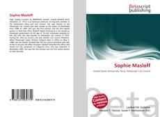 Обложка Sophie Masloff