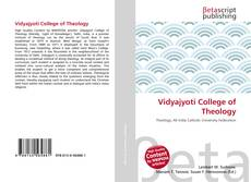 Couverture de Vidyajyoti College of Theology