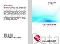 Sophie Maslow kitap kapağı