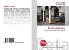 Bookcover of Rancho Johnson