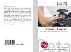 Buchcover von Alexander Kurynow