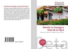 Portada del libro de Rancho La Cienega o Paso de la Tijera