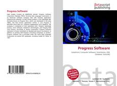 Bookcover of Progress Software