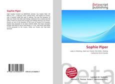 Buchcover von Sophie Piper