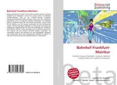 Buchcover von Bahnhof Frankfurt-Mainkur
