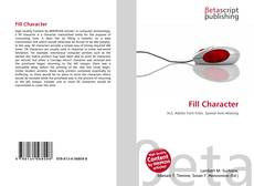 Bookcover of Fill Character