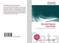 Capa do livro de Patriote Popular Assemblies