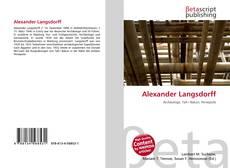 Buchcover von Alexander Langsdorff