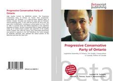 Portada del libro de Progressive Conservative Party of Ontario