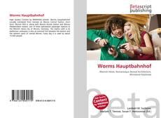 Worms Hauptbahnhof kitap kapağı