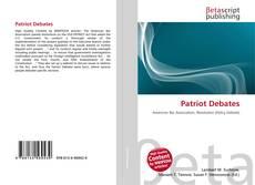 Bookcover of Patriot Debates
