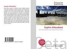 Bookcover of Sophie d'Houdetot