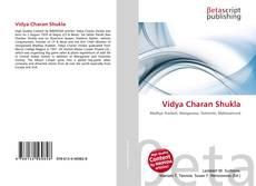 Couverture de Vidya Charan Shukla