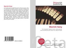 Bookcover of Warrick Sony