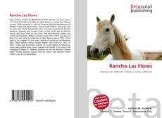 Bookcover of Rancho Las Flores