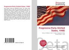 Bookcover of Progressive Party (United States, 1948)