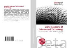 Copertina di Vidya Academy of Science and Technology
