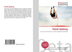 Capa do livro de Patrik Sjöberg