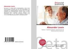Portada del libro de Alexander Lewin
