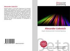 Bookcover of Alexander Liebreich