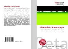 Bookcover of Alexander Liezen-Mayer