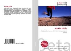 Capa do livro de Patrik Klüft