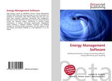 Bookcover of Energy Management Software