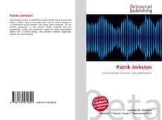 Capa do livro de Patrik Jerksten