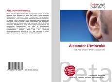 Bookcover of Alexander Litwinenko