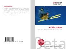 Capa do livro de Patrik Järbyn