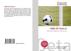 Bookcover of 1986–87 Serie A