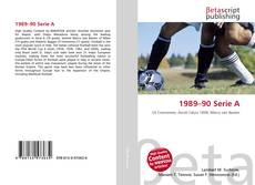 Bookcover of 1989–90 Serie A