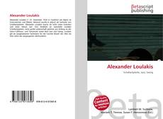 Bookcover of Alexander Loulakis