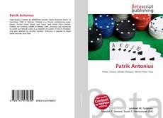 Patrik Antonius kitap kapağı