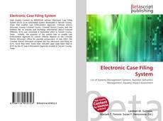 Couverture de Electronic Case Filing System