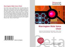 Bookcover of Warrington Male Voice Choir