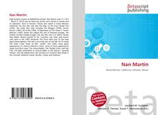 Bookcover of Nan Martin