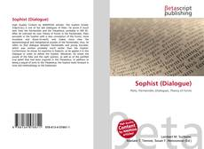 Bookcover of Sophist (Dialogue)