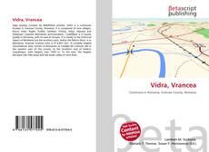 Bookcover of Vidra, Vrancea