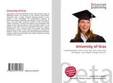 Bookcover of University of Graz
