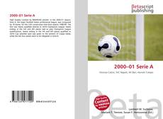 Bookcover of 2000–01 Serie A