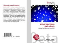 Couverture de Alexander Mann (Bobfahrer)